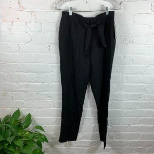 Doncaster Collection Silk Tuxedo Pant Black Size 4